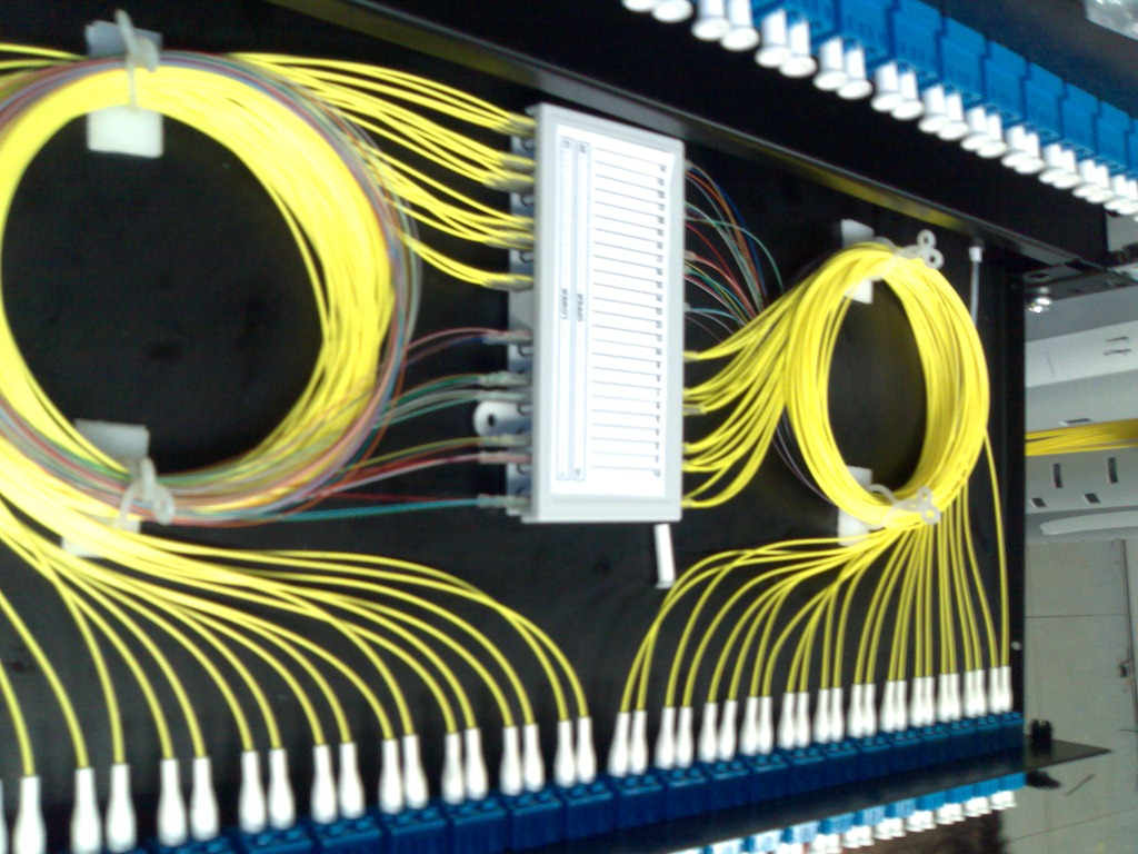 Structured Wiring On Structured Wiring Enclosure